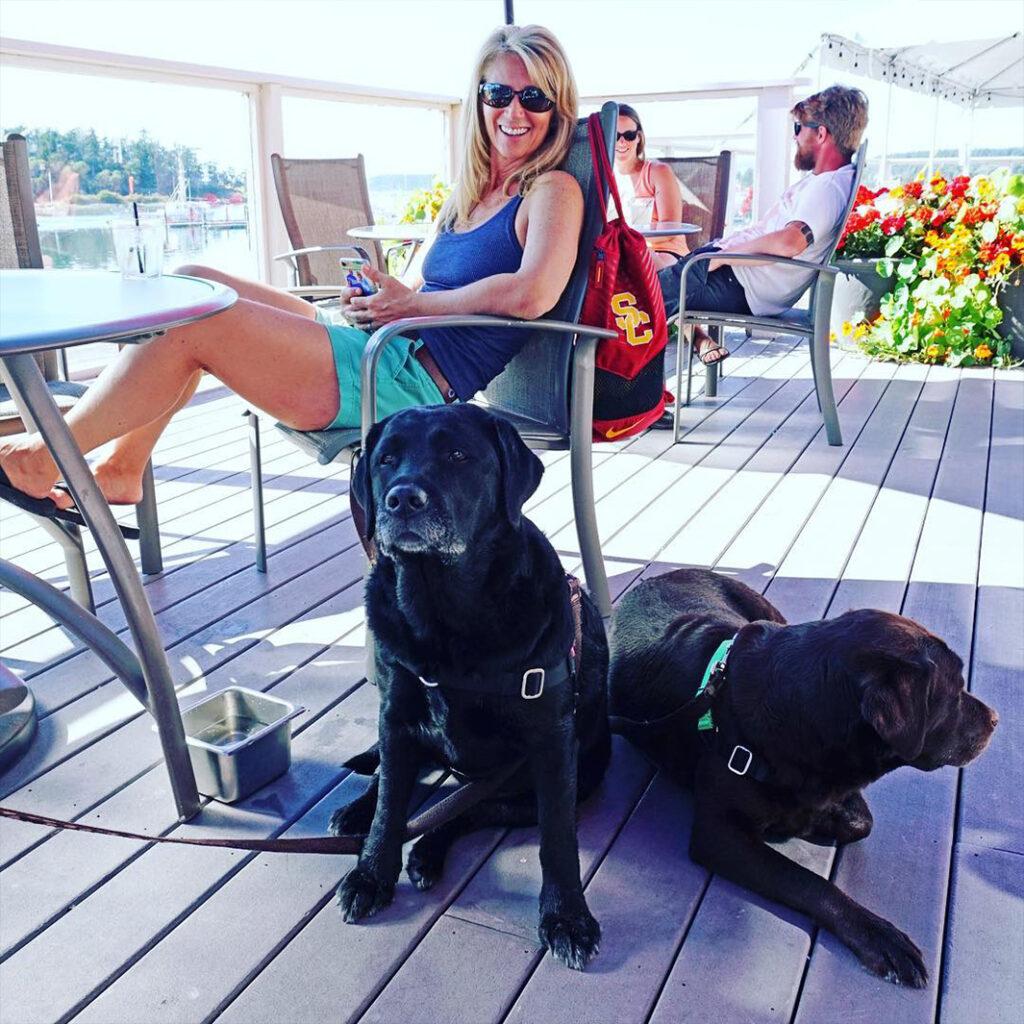 Dog friendly accommodations - Lopez Islander Resort