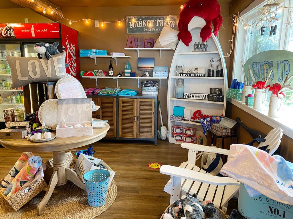 Lopez Islander Resort - gift store.