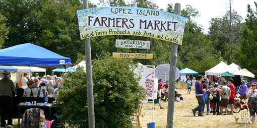 Lopez Island recreation - Farmers Market