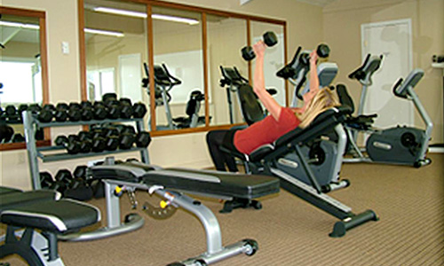 Lopez Island Hotel - Exercise Room