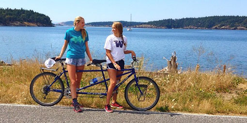 Lopez Island recreation - biking
