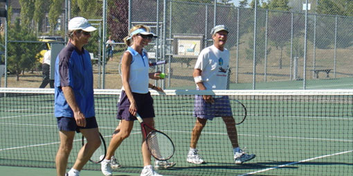 Lopez Island recreation - tennis